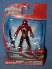 "Power Rangers Super Megaforce - 4"" Red  Ranger Action Figure"