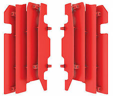 New Red Honda Radiator Covers Guards CR125 CR250 CRF450R CR 125 250 CRF 450R