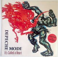 "DEPECHE MODE 7""-1985-⚠️Erstpressung Red Vinyl-It's called a Heart-INT.111631"