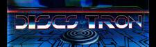 "Discs of Tron Arcade Marquee 26"" x 8"""
