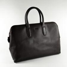 Hugo Boss Men's Leather Briefcase / Bag / Workbag RANZ # 50285213 - Brand New