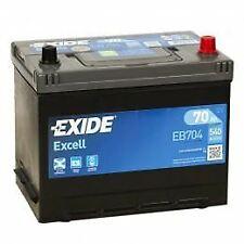 Batería EXIDE Excell EB704 12V 70Ah 540A Compatible VARTA E23 TUDOR TB704