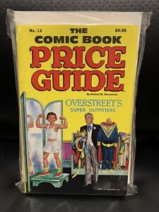 Overstreet Price Guide #12 Alfred E Newman MAD Magazine Cover Perfect Condition!