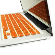 ORANGE Silicone Keyboard Cover Skin for Macbook Pro 13""