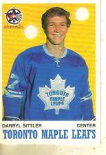 2000 NHL FANTASY - ALL STAR GAME - DARRYL SITTLER ROOKIE REPRINT