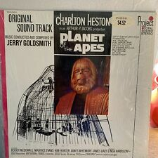 Clean Planet of the Apes Original 1968 Soundtrack Lp Record Project Pr5023Sd