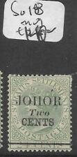 MALAYA JOHORE (P0501B) QV 2C/24C   SG 18  MOG
