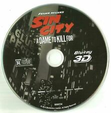 Sin City a Dame To Kill For 3D Disco Blu-Ray & Ilustraciones Solo Estuche Usar