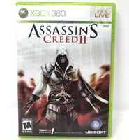 Assassins Creed 2 Microsoft Xbox 360 Game Gift Xmas Used ✅ TESTED WORKS 🚚FREE