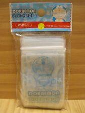Doraemon Zip Top Plastic Bag 25count, Mini-Size, Cute Gift Fastener Bag, Kawaii!