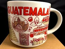 STARBUCKS Been There Series GUATEMALA Across the Globe Collection Mug NIB