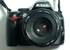 Nikon D3000 10.2MP Digital SLR Camera not tested sold as is