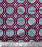 Soimoi Fabric Blue Mandala Printed Fabric 1 Yard - MD-515D