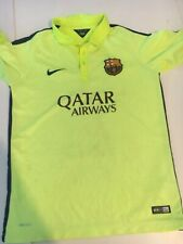 FC BARCELONA BARCA third jersey shirt NIKE 2014-2015 Extra Large Boy Good Cond