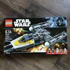 NEW Retired Lego Set 75172 Y-Wing Starfighter Star Wars Stormtrooper Moroff