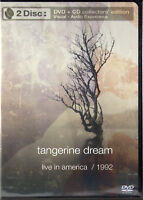 Tangerine Dream LIVE In America 1992 NEW 2 Disc DVD/CD Collector's Edition