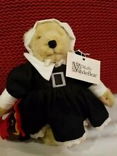 "Muffy Vanderbear Thanksgiving Pilgrim & Turkey ~ 8"" Bear & Outfit ~ with Tag"
