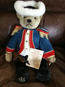 Hermann Mohair Growler Bear Toy Soldier NUTCRACKER SUITE Limited Edition W/ tags
