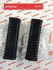 HONDA  Z50 Z50K Z 50 CA77 CA72 DREAM  FOOT PEG RUBBERS STEP STAND (2) OEM NEW