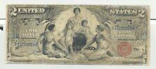 $2 Series 1896 Educational Silver Certificate
