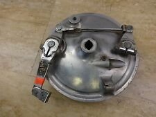 1972 Honda CL350 CL 350 H1412' front wheel hub drum brake plate