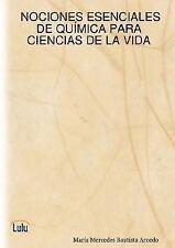 Nociones esenciales de quÍmica para ciencias de la Vida by María Mercedes...