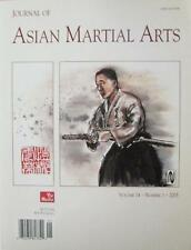 2005 JOURNAL OF ASIAN MARTIAL ARTS MAS OYAMA STEVE ARNEIL KARATE AIKIDO KUNG FU