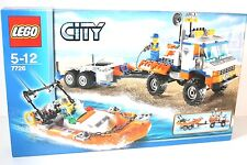 LEGO® City 7726 Küstenwache Lastwagen mit Boot NEU OVP MISB 2008