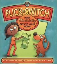 Flick a Switch: How Electricity Gets to Your Home-ExLibrary