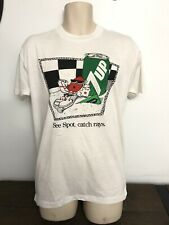 """New listing Vintage 1988 Screen Stars Men's Xl 7-Up """"See Spot Catch Rays"""" Short Sleeve Shirt"""