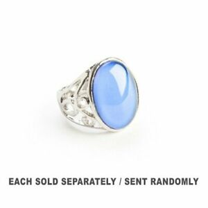VINTAGE Colour Mood Ring Changes with Your Body Temperature One Size Fits Most