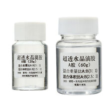 High quality AB Crystal Glue Two Component Epoxy Resin Sealant Quick Drying