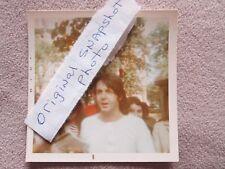 Paul McCartney Vintage Snapshot Photo 1969 The Beatles RARE COLLECTIBLE