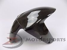 2005-2008 ZX6R ZX-6R Front Tire Fender Mud Guard Hugger Fairing Carbon Fiber