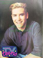 1992 Mark-Paul Gosselaar TV Teens Pin-up Poster BIN Bonus Saved By The Bell Sexy
