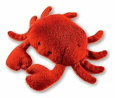 Red Crab Plush Magnet by Puzzled Item 5639 Great for Refrigerators Soft & Cute