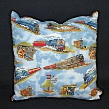 Pilloroo Pillow Trains Decorative Hidden Surprise Pouch Throw Bedroom Kids Teens