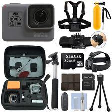 GoPro Hero 6 Negro Impermeable 4K Videocámara Cámara + Paquete de acción 32 GB