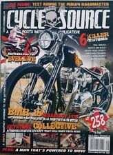 Cycle Source Sept 2018 Issue 258 Killer Customs BMR 18 FREE SHIPPING CB