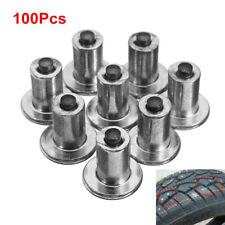 100X Anti Slip Ice Nails Road Tire Stud Winter Car Accessories Screw Tire Studs