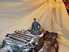 Heng Largo alemán Panzer/Tiger Commander figura 1/16...