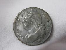 1792 2 SOLS FRANCE LOUIS XVI REVOLUTION ERA ROYAL COINAGE