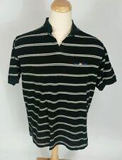 Vintage 90s Ralph Lauren Polo Sport Usa Flag Shirt Stripe Black White Xl Bear
