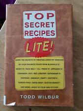 Top Secret Recipes Lite! by Todd Wilbur (1998 Hardcover)