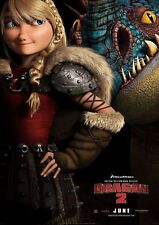 How To Train Your Dragon - A4 Glossy Poster - Film Movie Free Shipping #634