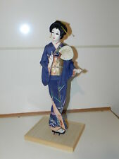 Asian NISHI Doll, Very pretty on wood stand approx 45 years old