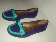 LOLLIPOPS MOCASSINS EN DAIM VERITABLE POINTURE 35 MODELE NAPACH VIOLET
