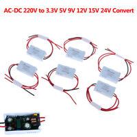 AC-DC Power Supply Module AC 1A 5W 220V to DC 3V 5V 9V 12V 15V 24V Mini ConNWUS