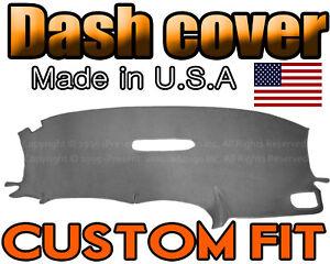 fits 2001-2007   DODGE CARAVAN  DASH COVER MAT DASHBOARD PAD / CHARCOAL GREY