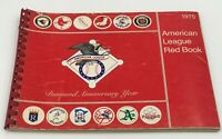1975 American League Red Book Guide -- Reds & Red Sox in World Series